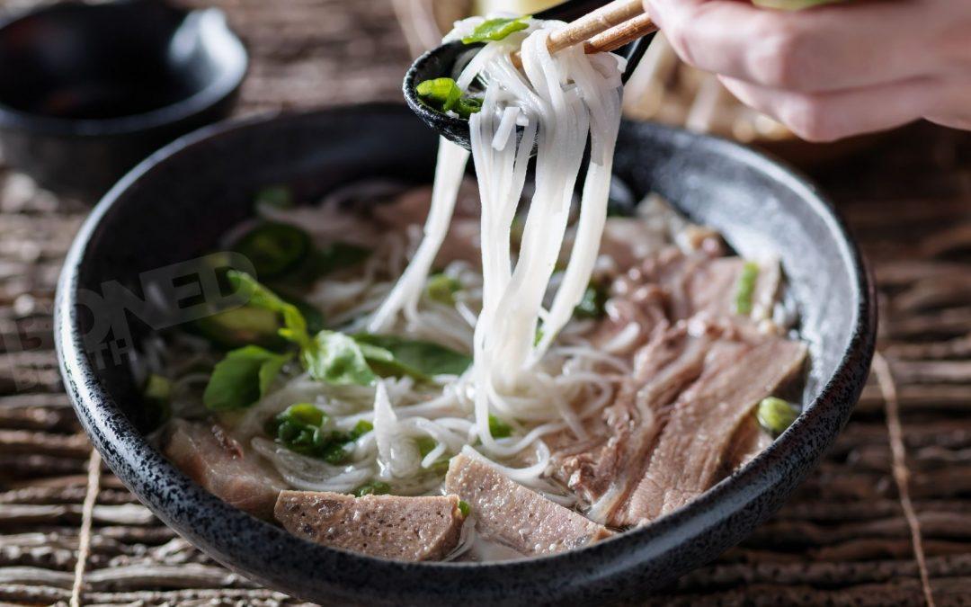 Quick Vietnamese Beef Pho Noodles