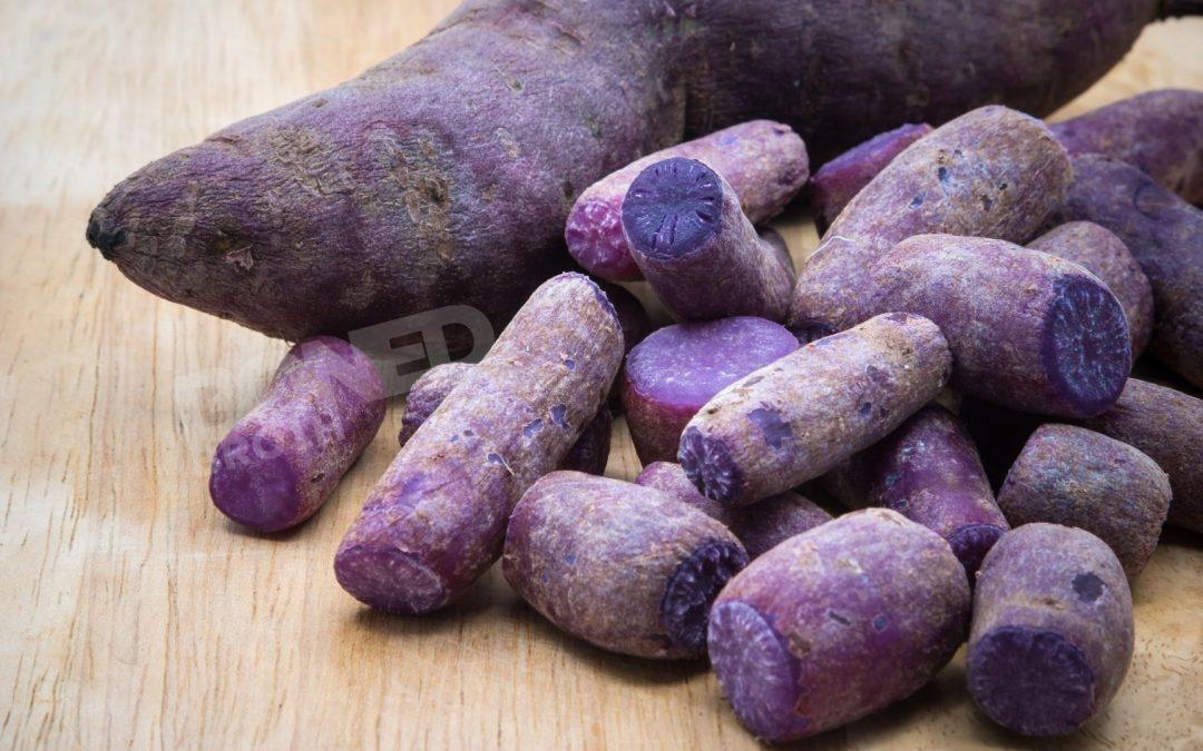 Purple Sweet Potato Bone Broth Soup