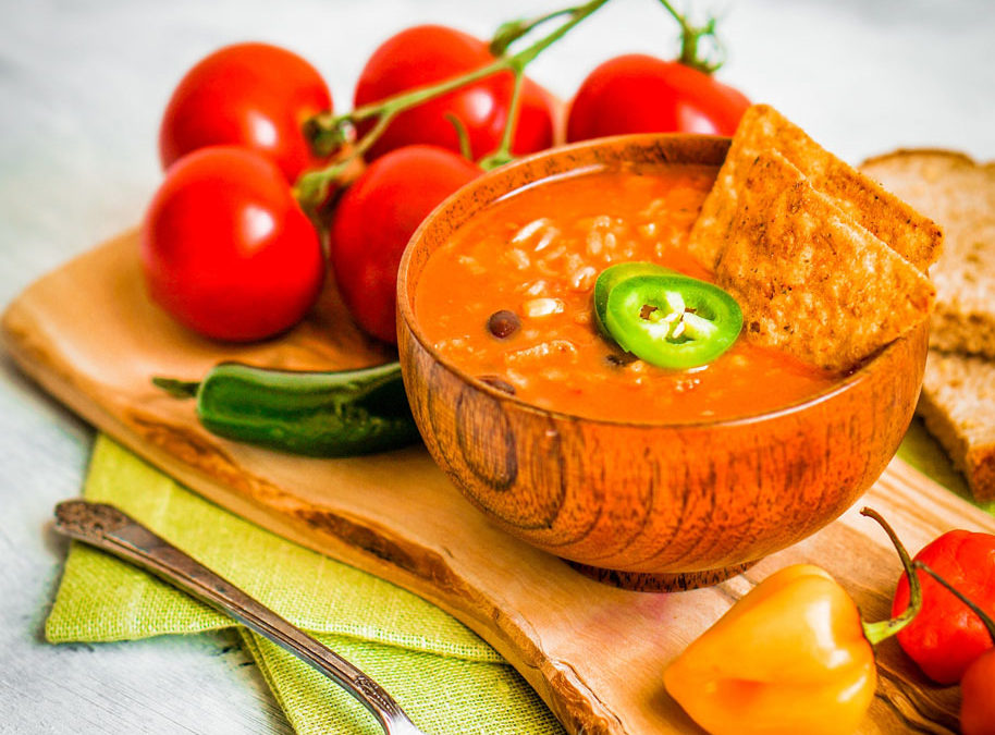 MEXICAN CHILI SOUP