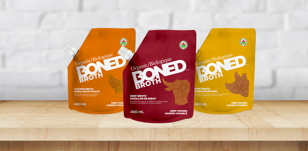 Boned Broth's New Packaging!