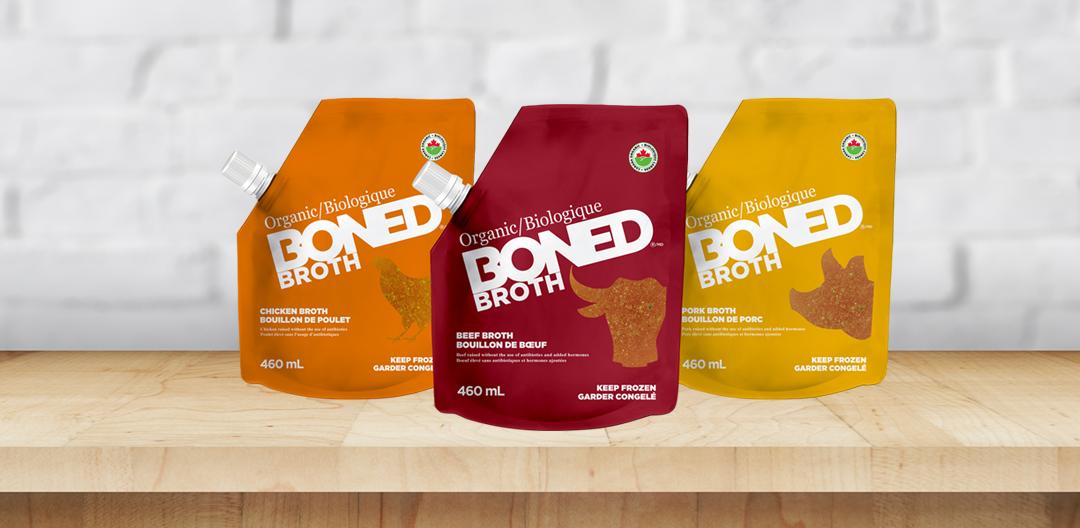 Boned broth table Packs