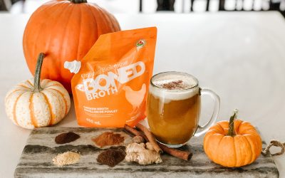 BONED Broth Pumpkin Spice Latte